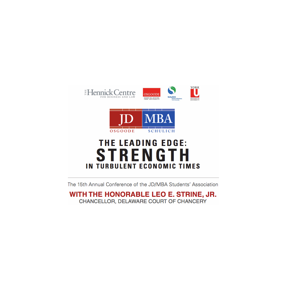 2015 JD MBA Conference Poster